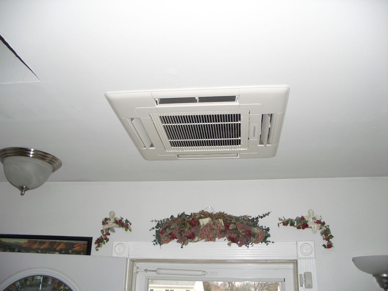 Ductless and ducted system installed by Pacific HVAC Air conditioner #614741