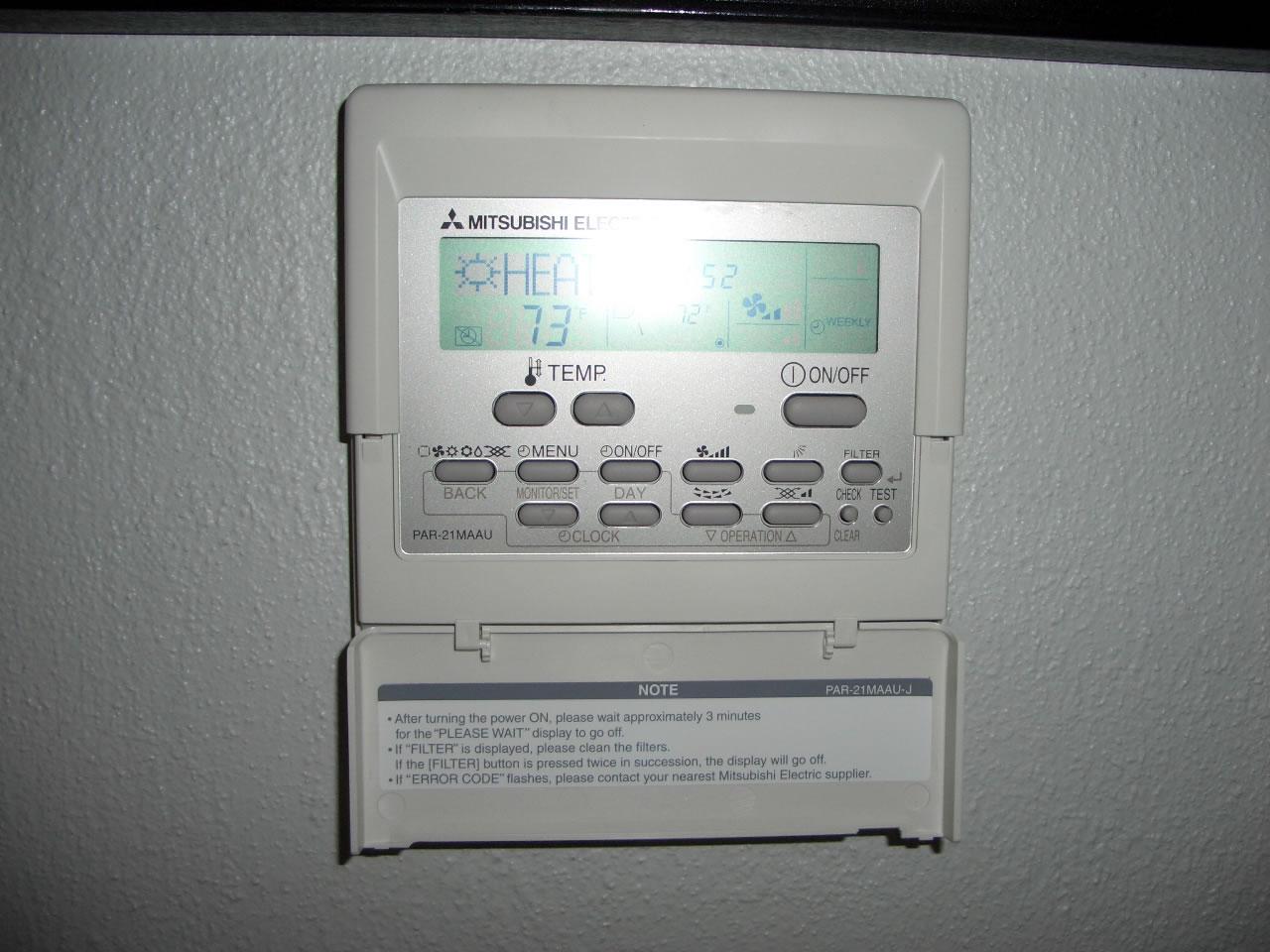 Daikin troubleshooting manual wall Controller installation