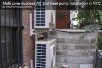 Video of Daikin multi zone ductless Air conditioning heat pump