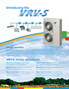 Daikin VRV S multi split systems heat pump