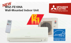 MSZ-FE18NA heat pump/AC