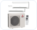 Mr slim ductless multi zone