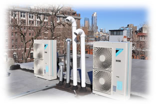 Daikin VRV-S outdoor unis