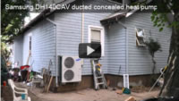 Video of Samsung concealed systems: DHV140CAV & EH070CAV