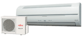 Fujitsu 18CL ductless system