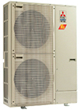 Mr. Slim P series ductless outdoor unit